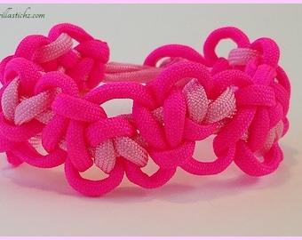Tumbleing Hearts Survival Paracord Bracelet