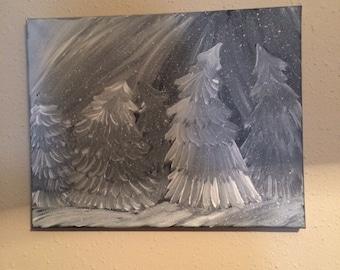 11x14 acrylic painting