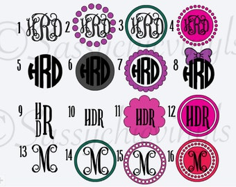 Free Shipping! Monogram decal! Lilly Pultizer