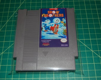 Snow Brothers (Nintendo Entertainment System, 1991) REPRO!