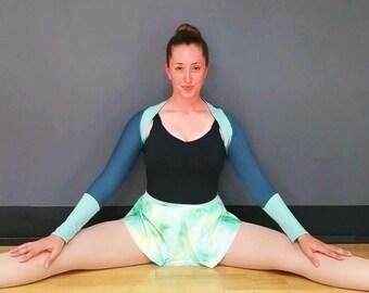 Teal & Seafoam Ballet Shrug by Skyline Dancewear