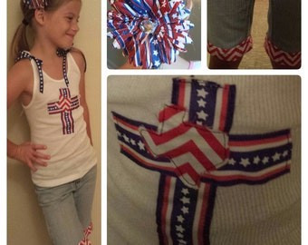 Patriotic 4th of July outfit