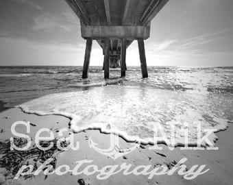 Beach Pier, 30A FL Print