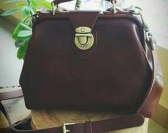 Classy European Leather Handbag