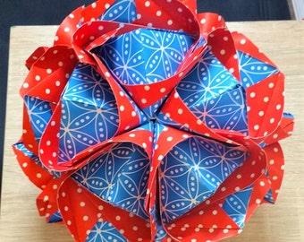 Origami Kusudama clover!