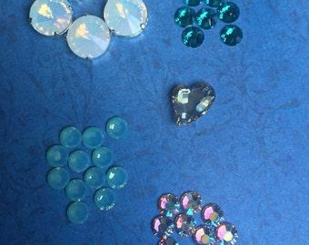 Lot of Swarovski crystals