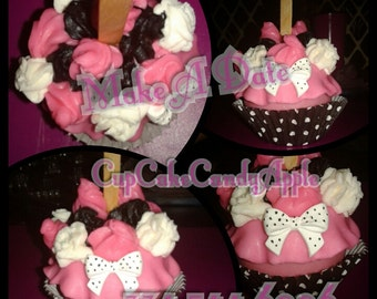 Cupcake Candy Apples