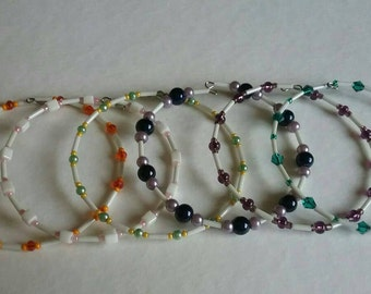 6 bracelet mix n match stack