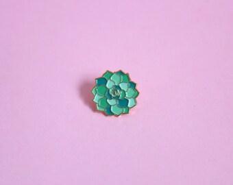 Succulent Soft Enamel Pin