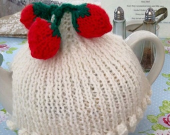 Strawberry tea cosy