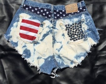 Garb 4th of July Cutoffs