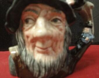 Royal Doulton Toby Jug Rip Van Winkle (D6463)