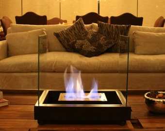 Ethanol Fireplace chimney