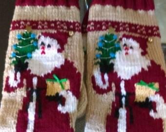 Old World Santa Stocking