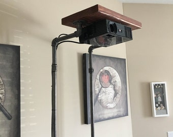 Rustic Projector Stand