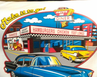 DRIVE-IN DINER T-shirt