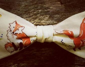 Fox Bow Tie (reversible)