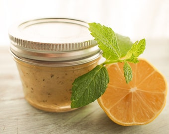 Lemon Mint Sugar Scrub (V)