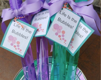 Bubble Wand Party Favors
