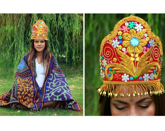 Andean Dance Peruvian Sacred Crown Festival Andean Costume Burning Fun Colorful Psy Gipsy Tribal Visionary