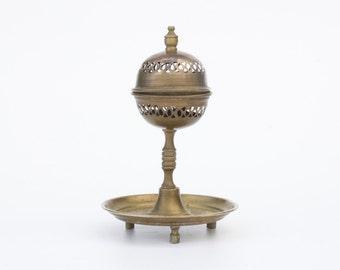 Old incense burner of copper
