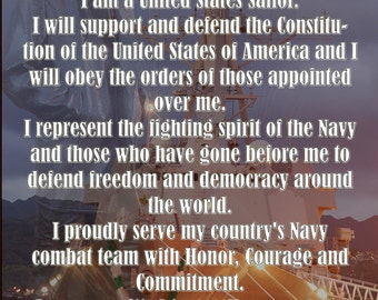 Navy Sailor Creed