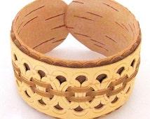 Bracelet made of birch bark