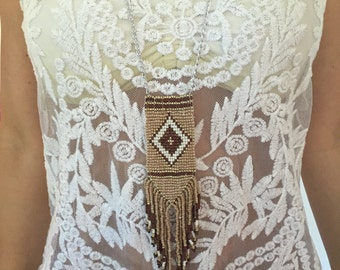 Necklace long Bohemian