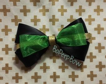 Loki Inspired Marvel Bow