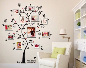 Family Tree Wall Decal Etsy.