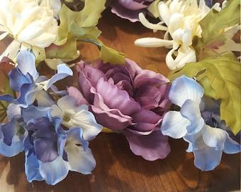 Floral headpiece