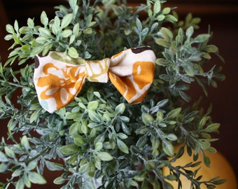 "Baby Bow - 2.5x3"" Fall Floral"