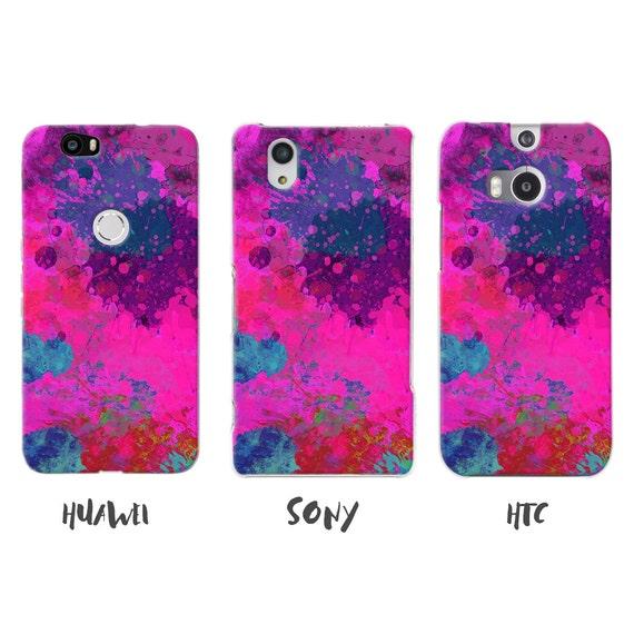 lifeprinter - Burlesque Sony M5 Case, Pink Rustic, Paint ...