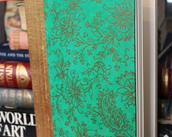 Hand Bound Flower Pattern Book