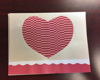 Large Heart Greeting Card