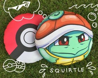 Squirtle Pokemon Pokeball Pillow Pokemon Go