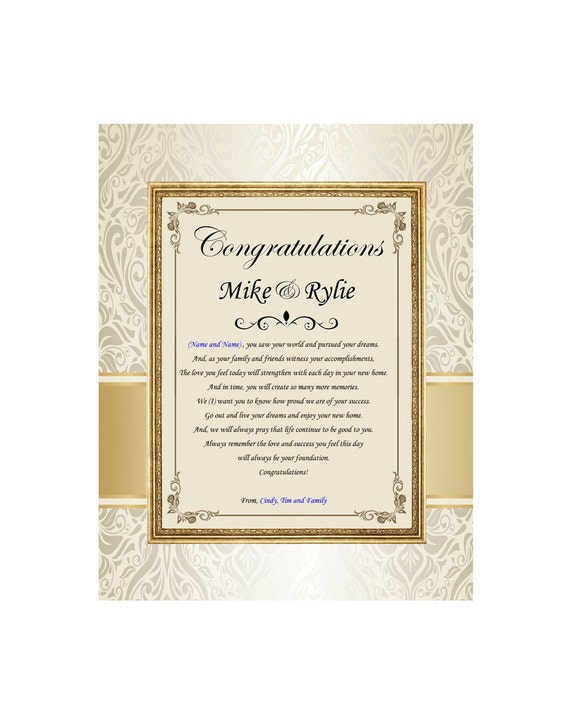 Traditional Housewarming Gifts Poem Gift Ftempo