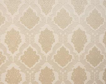 Upholstery/Drapery Jacquard Fabric Darius 100 Pearl By The Yard