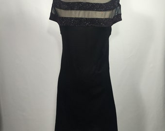 Sheer+Sparkle dress (fitted)