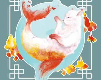 CatFish // 2016 // Print