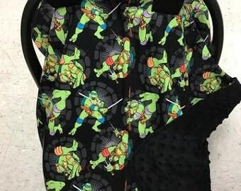 Teenage Mutant Ninja Turtle Car Seat Canopy