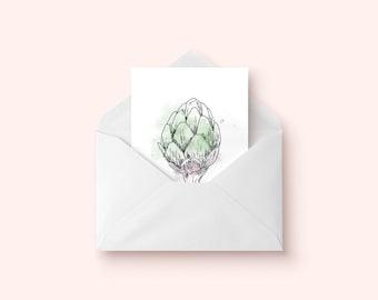 Card artichoke / / Artichoke Card