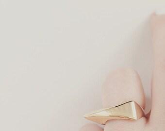 Little Spiky Rose Gold Ring