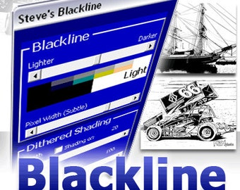 Blackline for CorelDRAW X3 through X6