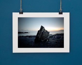 "Landscape Photography Ayrmer Cover Devon Sunset. Print 6""x9"" or 4""x6"""