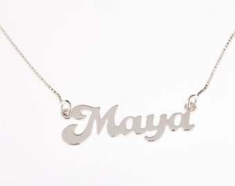 925 sterling silver name necklace personalized gift and souvenir