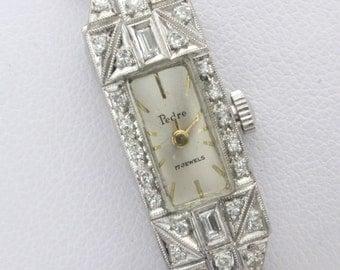 CERTIFIED 4,500 PEDRE PLATINUM Rare Diamond Watch Wholesale 890