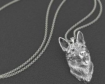 German Shepherd Dog pendant