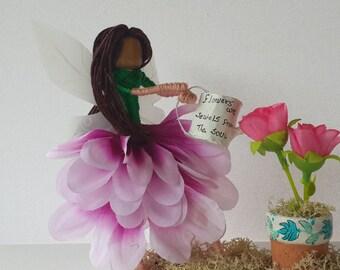 Handmade Garden Fairy. Doll art