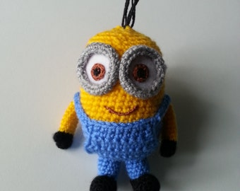 Minions toy, crochet toy, handmade